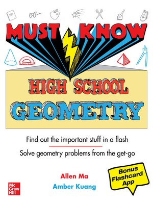 cover image of Must Know High School Geometry