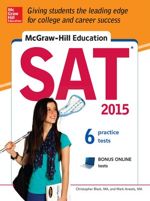 cover image of McGraw-Hill Education SAT 2015