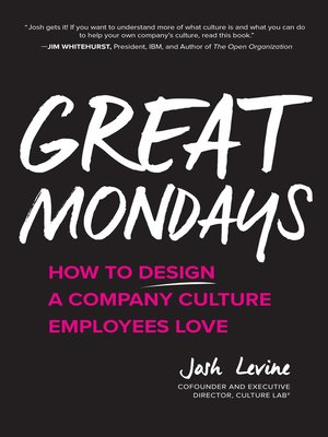 cover image of Great Mondays