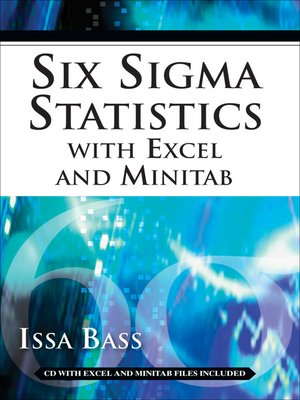 cover image of Six Sigma Statistics with Excel and Minitab