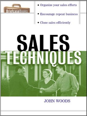 cover image of Sales Techniques