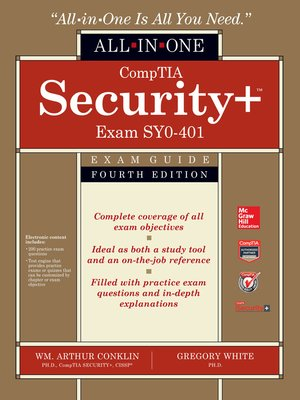 cover image of CompTIA Security+ All-in-One Exam Guide (Exam SY0-401)