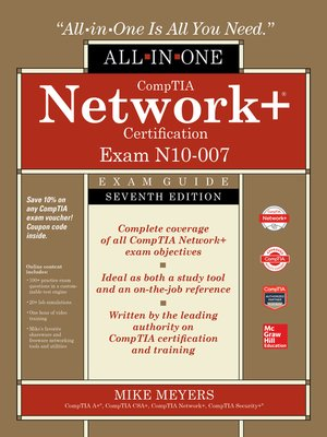 cover image of CompTIA Network+ Certification All-in-One Exam Guide (Exam N10-007)