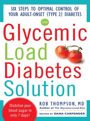 cover image of The Glycemic Load Diabetes Solution