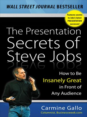 cover image of The Presentation Secrets of Steve Jobs