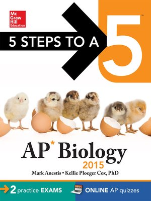 cover image of 5 Steps to a 5 AP Biology, 2015 Edition