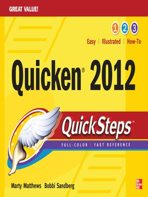 cover image of Quicken 2012 QuickSteps