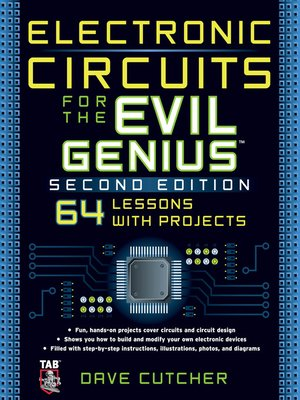 cover image of Electronic Circuits for the Evil Genius