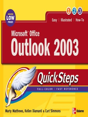 cover image of Microsoft® Office Outlook 2003