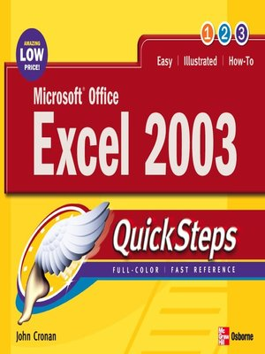 cover image of Microsoft® Office Excel 2003