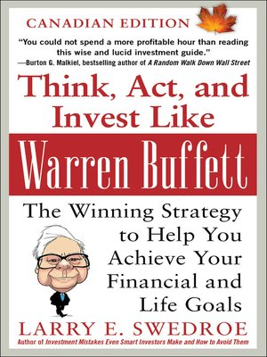 cover image of Think, Act, and Invest Like Warren Buffett