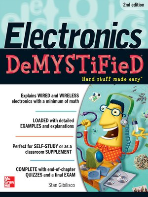 cover image of Electronics Demystified