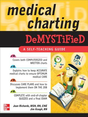 cover image of Medical Charting Demystified