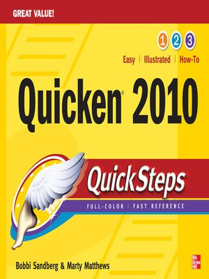 cover image of Quicken 2010 QuickSteps