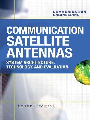 cover image of Communication Satellite Antennas