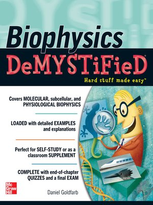 cover image of Biophysics DeMYSTiFied