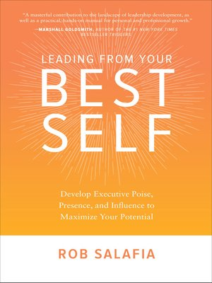 cover image of Leading from Your Best Self