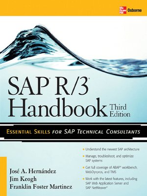 cover image of SAP R/3 Handbook
