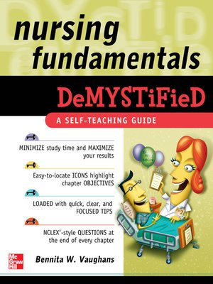 cover image of Nursing Fundamentals Demystified