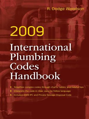 cover image of 2009 International Plumbing Codes Handbook