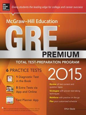 Mcgraw Hill Gre Book
