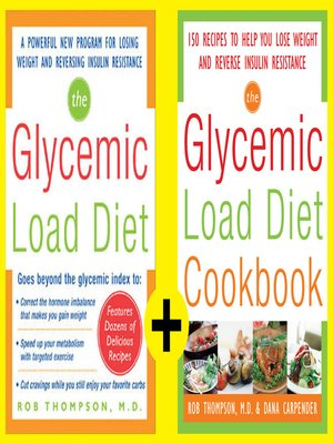 cover image of The Ultimate Glycemic Load Diet and Cookbook (EBOOK)