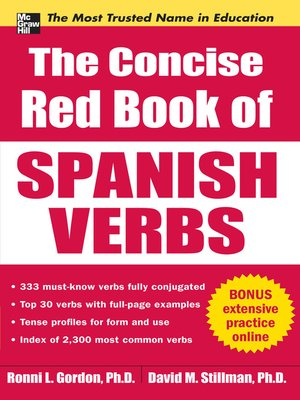 cover image of The Concise Red Book of Spanish Verbs