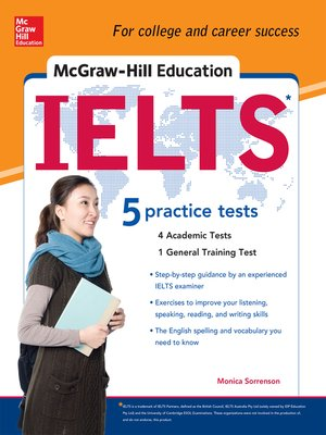 cover image of McGraw-Hill's IELTS