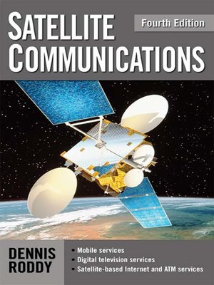 cover image of Satellite Communications