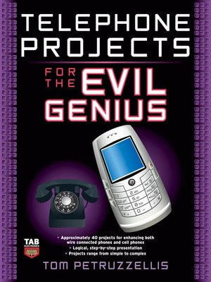 cover image of Telephone Projects for the Evil Genius
