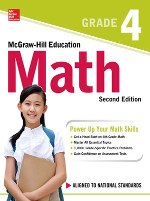 cover image of McGraw-Hill Education Math Grade 4