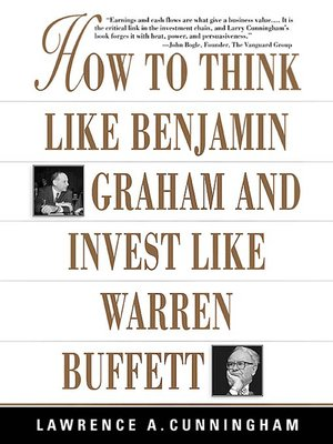 cover image of How to Think Like Benjamin Graham and Invest Like Warren Buffett