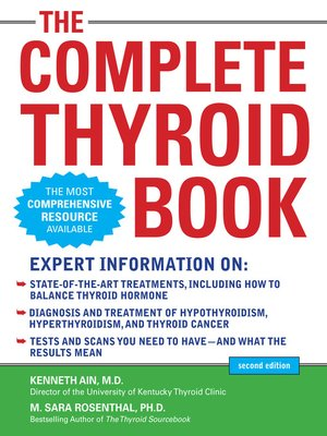 cover image of The Complete Thyroid Book