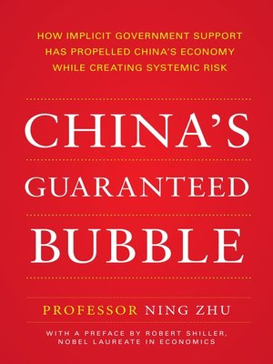 cover image of China's Guaranteed Bubble