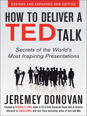 cover image of How to Deliver a TED Talk