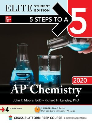 cover image of 5 Steps to a 5: AP Chemistry 2020