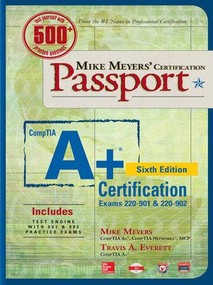 cover image of Mike Meyers' CompTIA A+ Certification Passport (Exams 220-901 & 220-902)