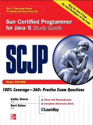 cover image of SCJP Sun Certified Programmer for Java 6 Study Guide