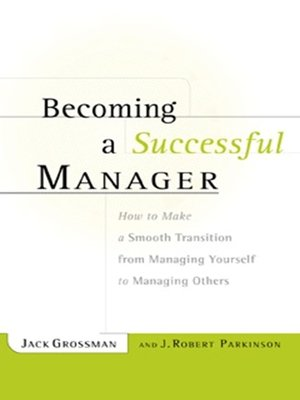 cover image of Becoming a Successful Manager