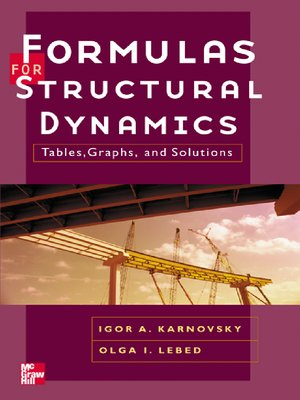 cover image of Formulas for Structural Dynamics