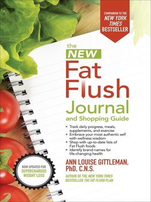 cover image of The New Fat Flush Journal and Shopping Guide