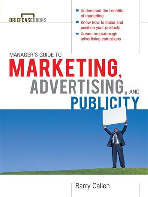 cover image of Managers Guide to Marketing, Advertising, and Publicity