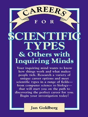 cover image of Careers for Scientific Types & Others with Inquiring Minds