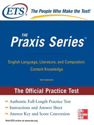 cover image of English Language, Literature, and Composition