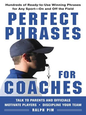 cover image of Perfect Phrases for Coaches
