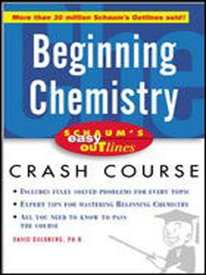 cover image of Beginning Chemistry