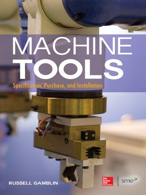 cover image of Machine Tools