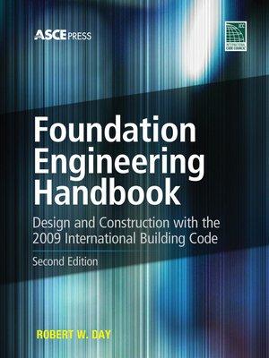 cover image of Foundation Engineering Handbook