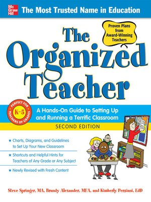 cover image of The Organized Teacher