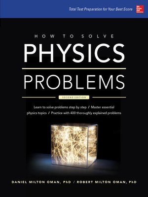 cover image of How to Solve Physics Problems